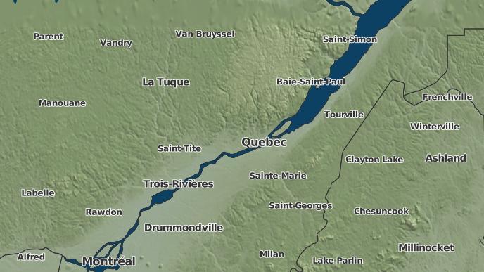 pour Montmorency, Québec