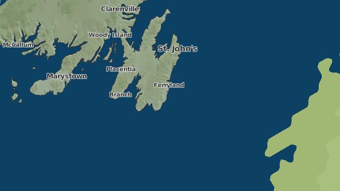 pour Admiral's Beach, Terre-Neuve-et-Labrador