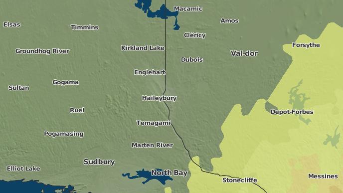 pour Silver Centre, Ontario