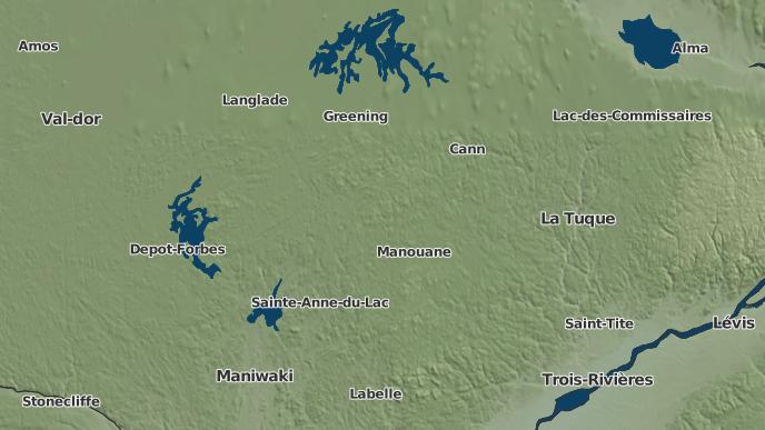 pour Lac-Wagwabika, Québec