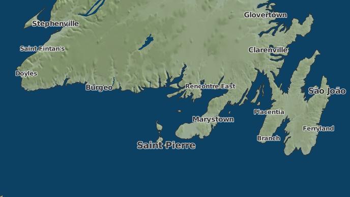 pour Dawson's Cove, Terre-Neuve-et-Labrador
