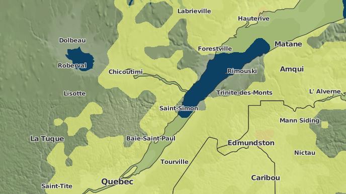 for Cacouna-Sud, Quebec