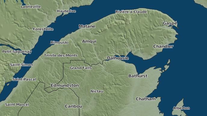 pour Carleton-sur-Mer, Québec