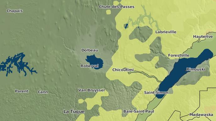 pour Dolbeau, Québec