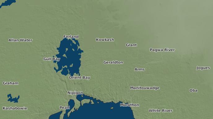 pour Geraldton East, Ontario