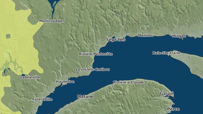 pour Port-Cartier, Québec