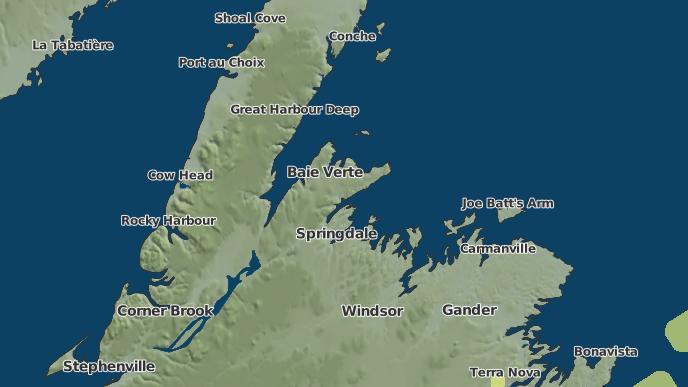 for Brighton, Newfoundland and Labrador