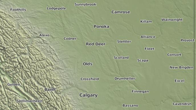 for Olds, Alberta