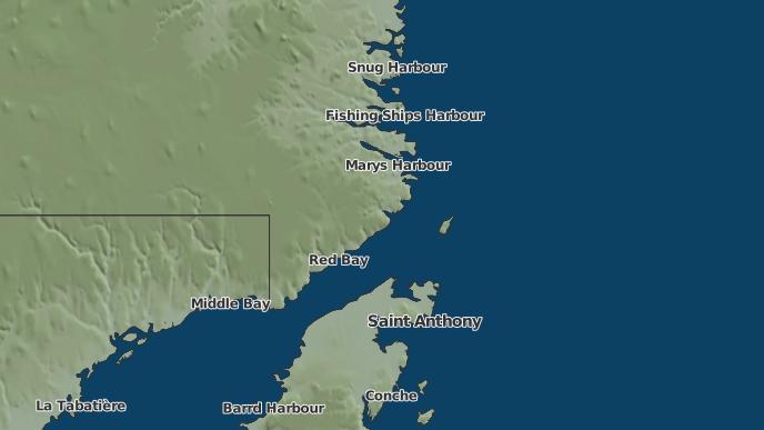 for Cape Charles, Newfoundland and Labrador