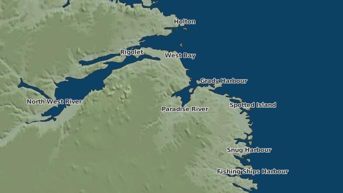 pour Paradise Point, Terre-Neuve-et-Labrador