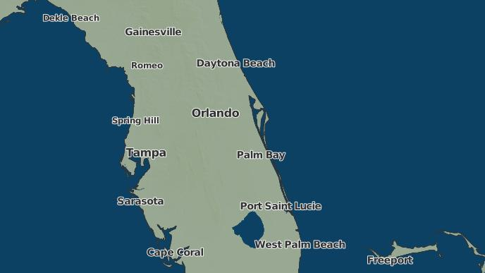 Weather Florida Map.3 Day Severe Weather Outlook Orlando Florida The Weather Network