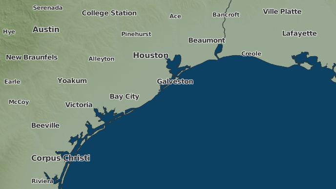 3 Day Severe Weather Outlook Galveston Texas The Weather Network