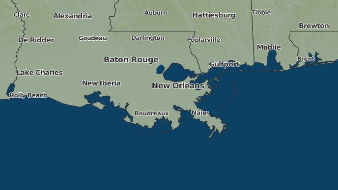 pour Algiers, Louisiane