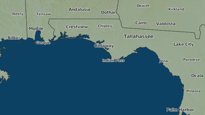 St Joe Florida Map.3 Day Severe Weather Outlook Port Saint Joe Florida The Weather