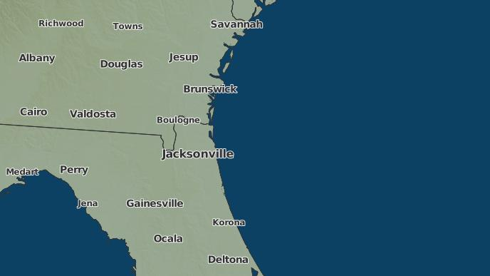 Weather Map Of Florida.3 Day Severe Weather Outlook Jacksonville Florida The Weather