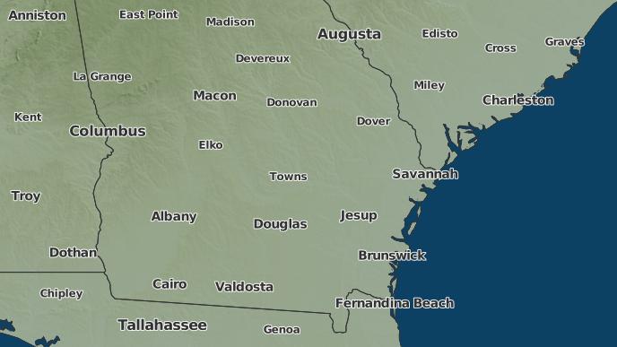Weather Map Columbus Ga.3 Day Severe Weather Outlook Vidalia Georgia The Weather Network