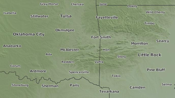 Talihina Oklahoma Map.3 Day Severe Weather Outlook Talihina Oklahoma The Weather Network