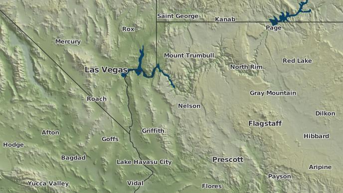 Dolan Springs Arizona Map.3 Day Severe Weather Outlook Dolan Springs Arizona The Weather