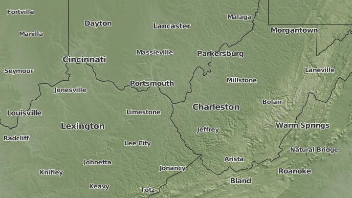 Ashton Virginia Map.3 Day Severe Weather Outlook Ashton West Virginia The Weather