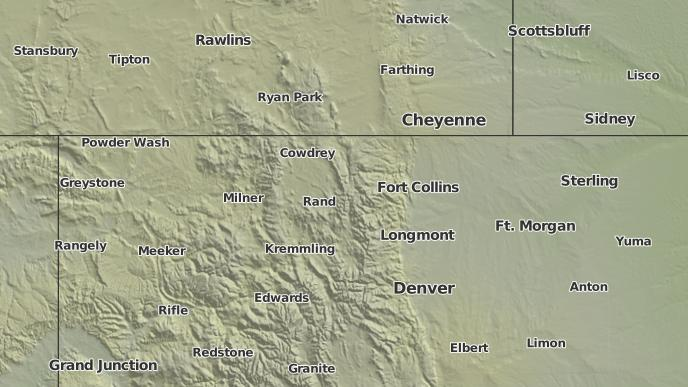 3 Day Severe Weather Outlook Bellvue Colorado The Weather Network