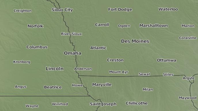 Avoca Iowa Map.3 Day Severe Weather Outlook Avoca Iowa The Weather Network