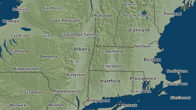 Albany Weather Map.3 Day Severe Weather Outlook Albany New York The Weather Network