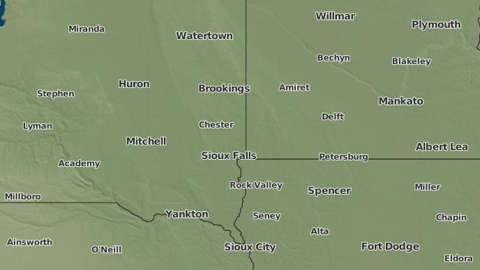 for Sioux Falls, South Dakota