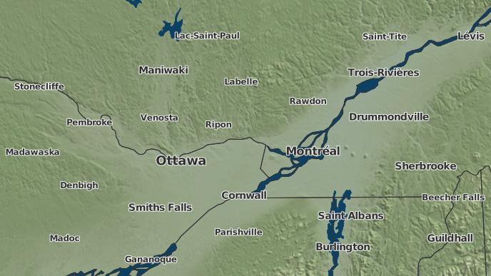 for Wentworth-Nord, Quebec