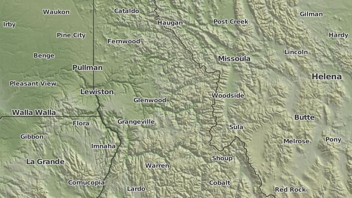 3 Day Severe Weather Outlook Kooskia Idaho The Weather Network