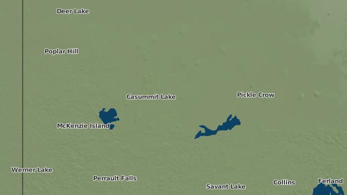 for Casummit Lake, Ontario
