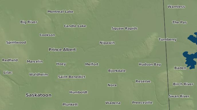 pour Thaxted, Saskatchewan