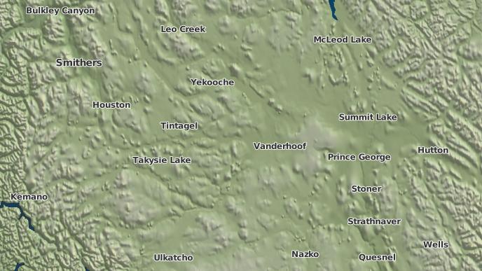 pour Fraser Lake 2, Colombie-Britannique