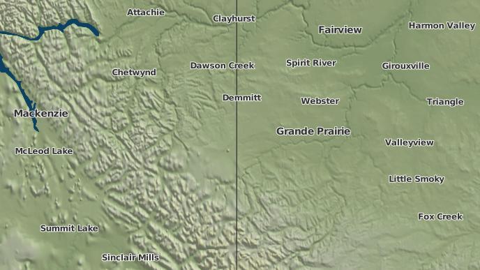 for Rio Grande, Alberta