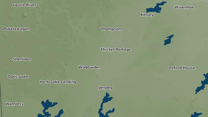pour Thicket Portage, Manitoba