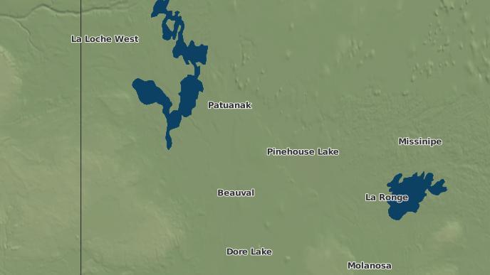 pour Ile A La Crosse I.R. 192E, Saskatchewan