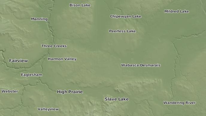 pour Utikoomak Lake 155, Alberta