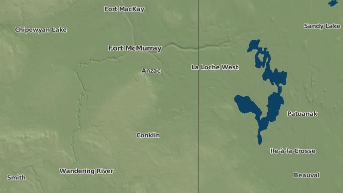 for Cowper Lake 194A, Alberta