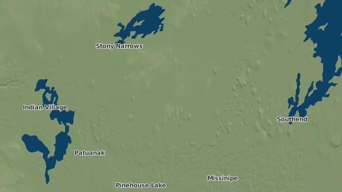 pour English River First Nation Haultain Lake IR 192K, Saskatchewan