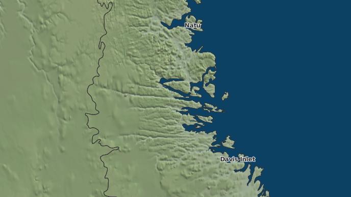 pour Nain, Terre-Neuve-et-Labrador