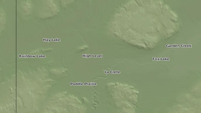 pour High Level, Alberta