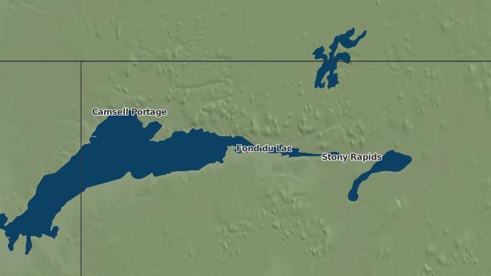 pour Fond du Lac I.R. 227, Saskatchewan