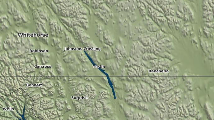 for Teslin, Yukon