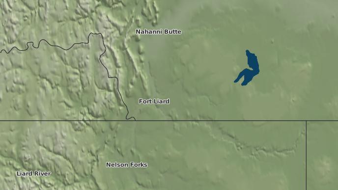 pour Fort Liard, Territoires du Nord-Ouest