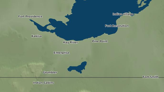 for Hay River, Northwest Territories