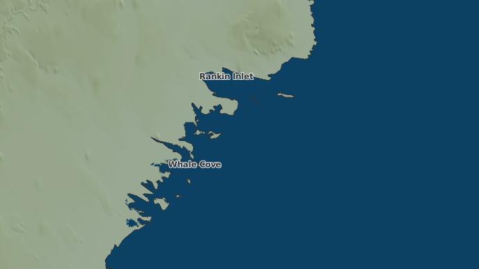 for Whale Cove, Nunavut