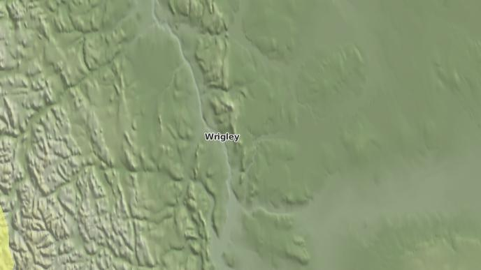 for Wrigley, Northwest Territories