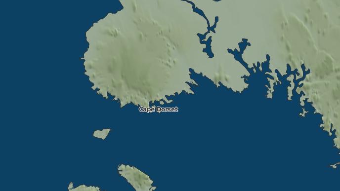 for Cape Dorset, Nunavut