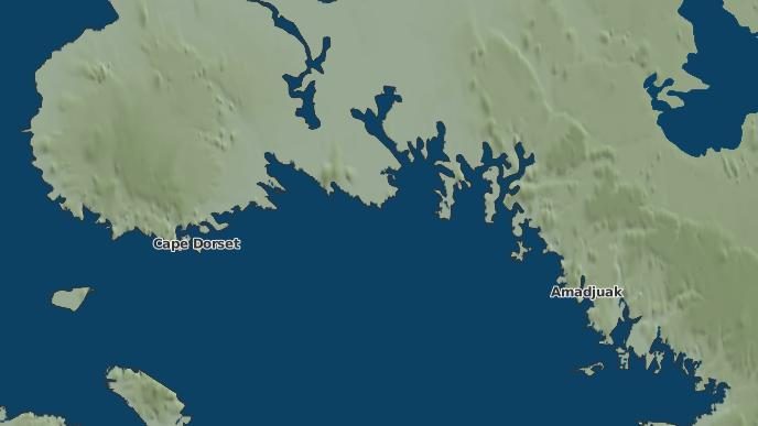 pour Aquiatulavik Point, Nunavut