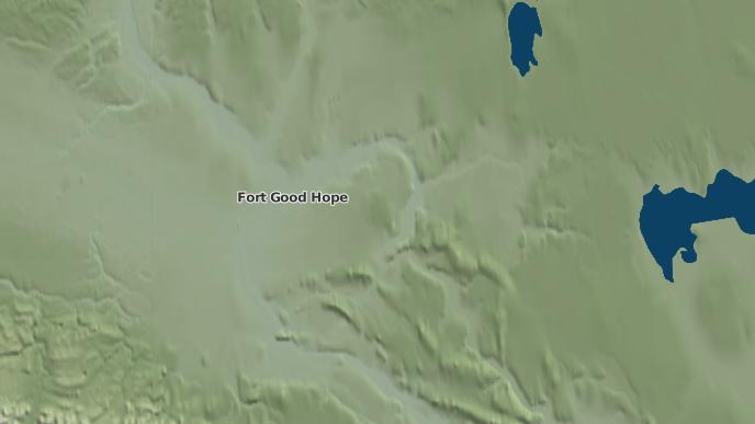 pour Fort Good Hope, Territoires du Nord-Ouest