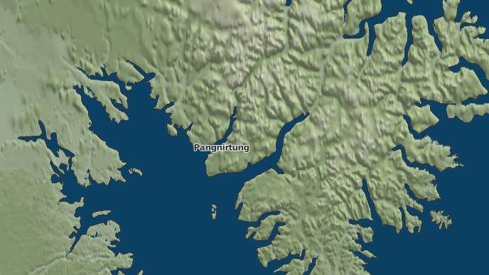 pour Pangnirtung, Nunavut